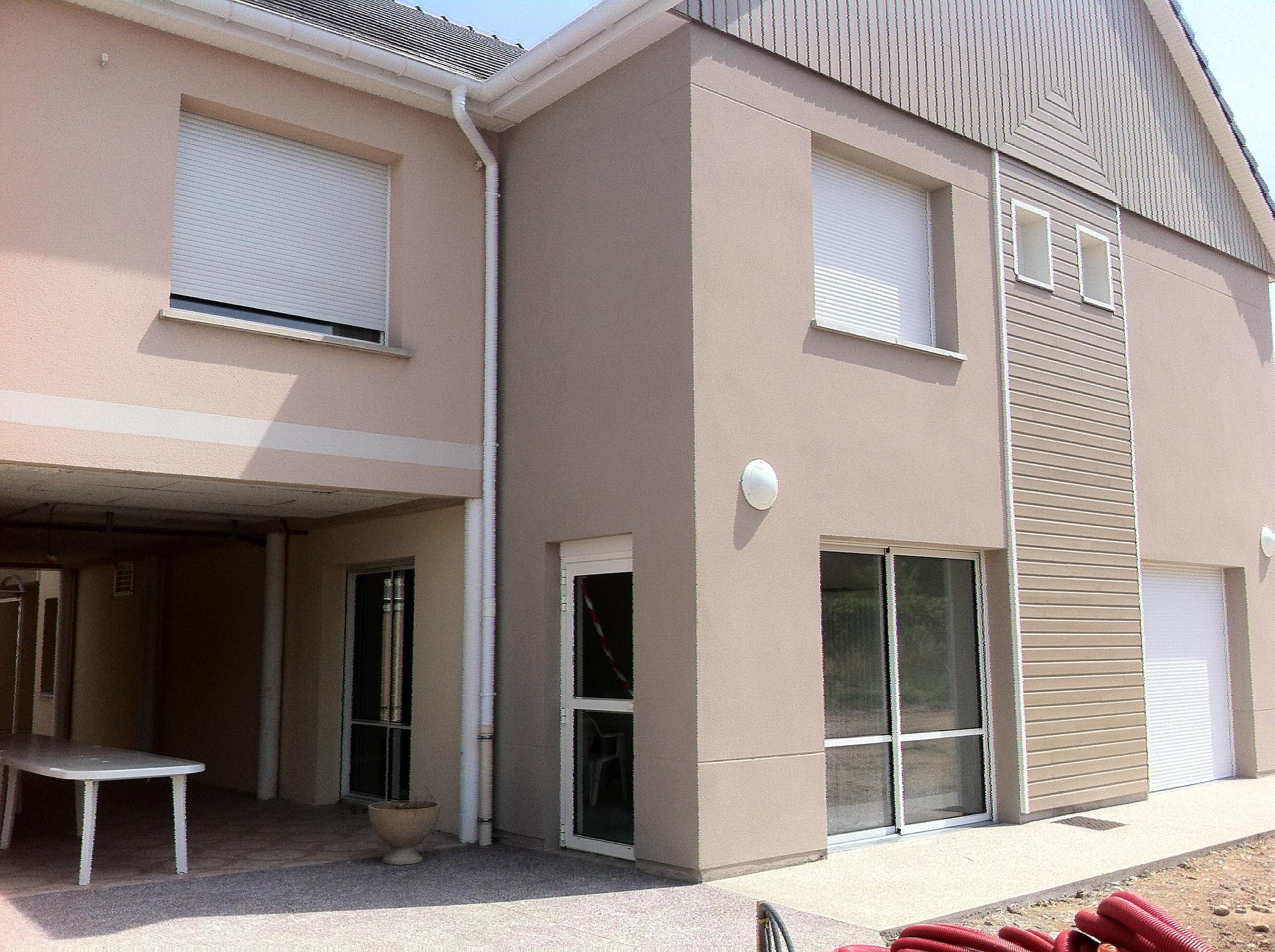 Construction d'une extension du foyer de vie pour handicapés à Saint Aubin Les Elbeuf