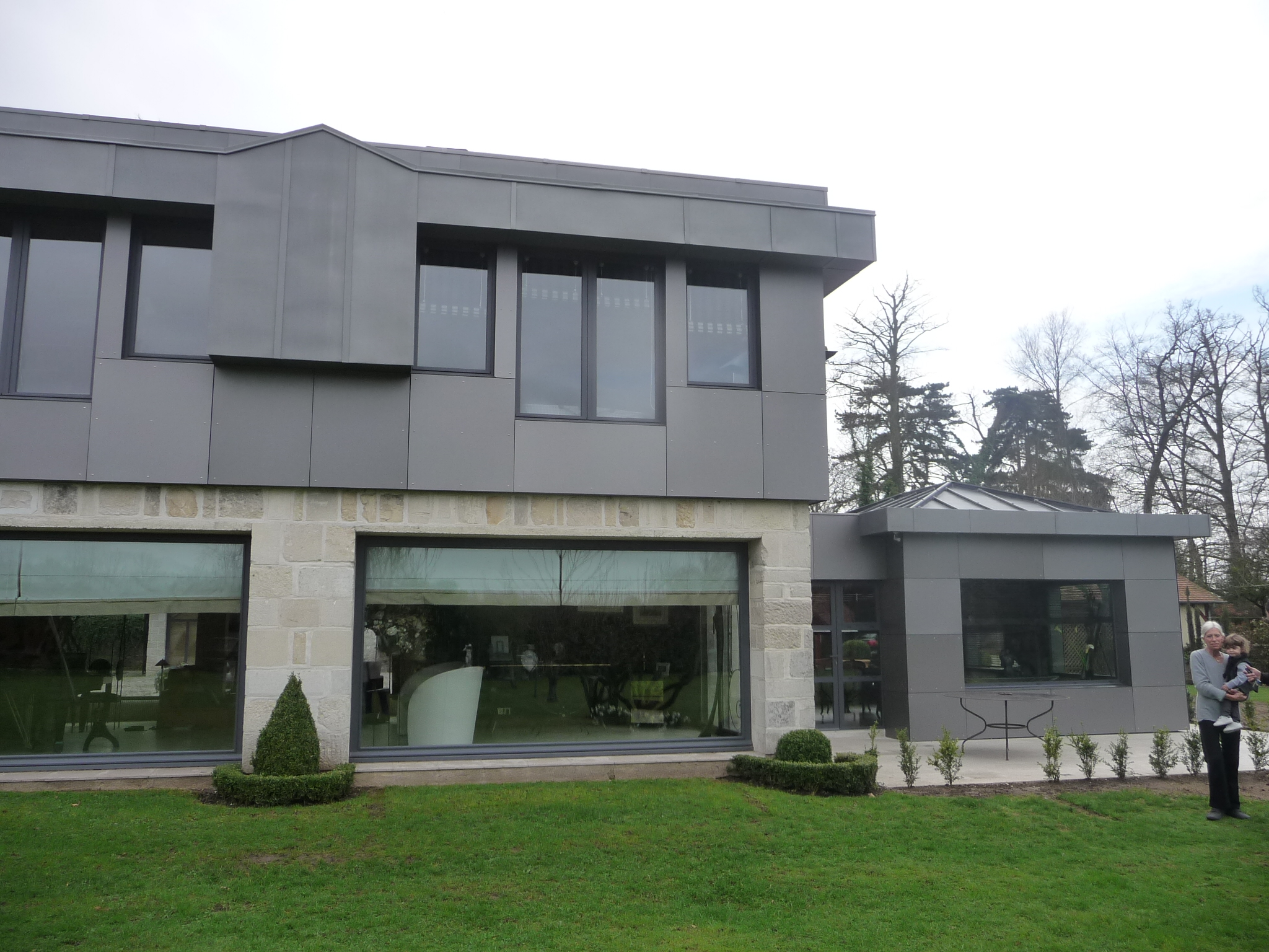 Projet d'agrandissement et de rénovation extérieure d'une maison individuelle Hénouville